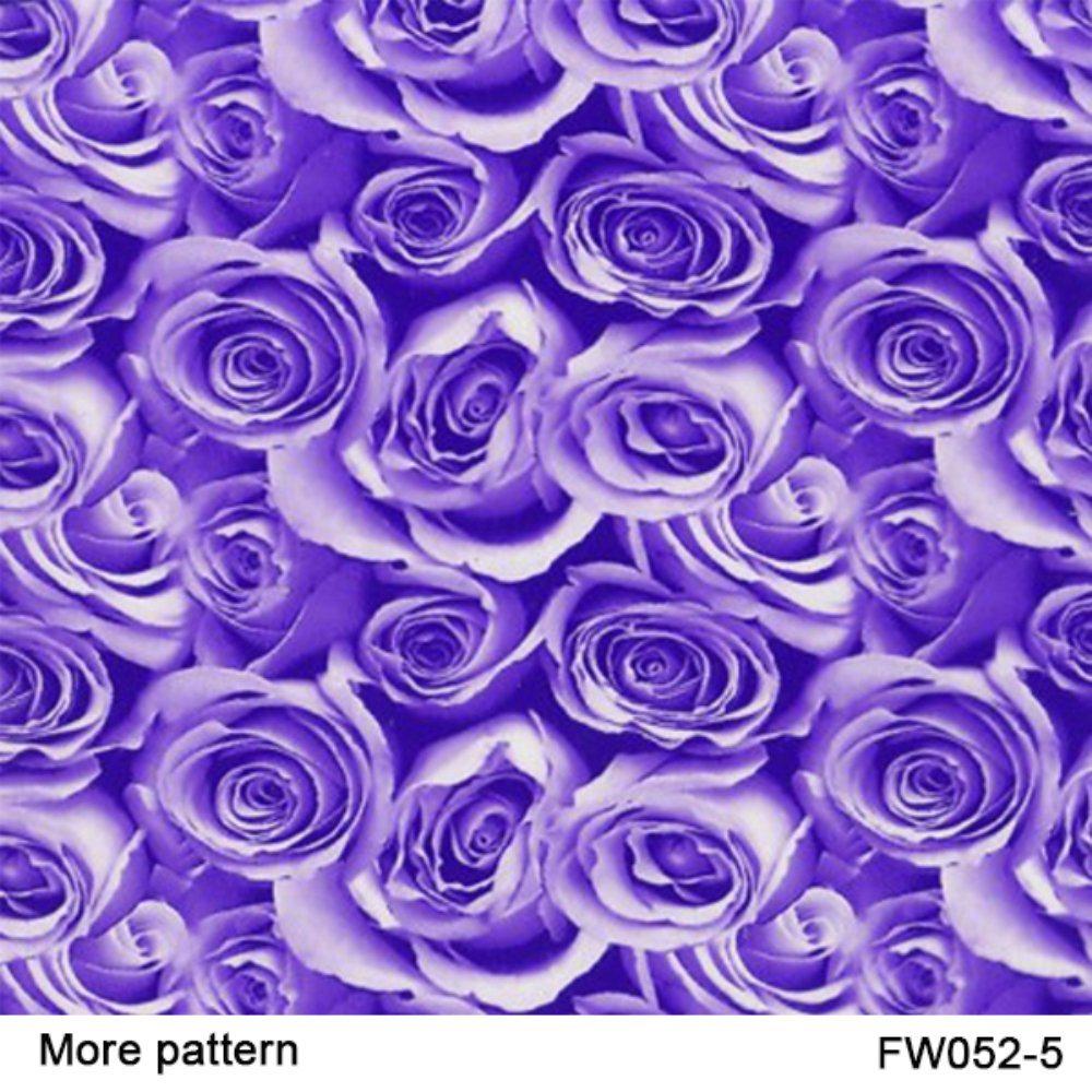 Kingtop 0.5m Width Flower Design Hydrographics Water Transfer Print Film Wdf9036