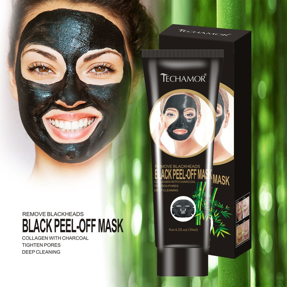 Pore Cleaning Blackhead Remover Peel off Black Facial Mask