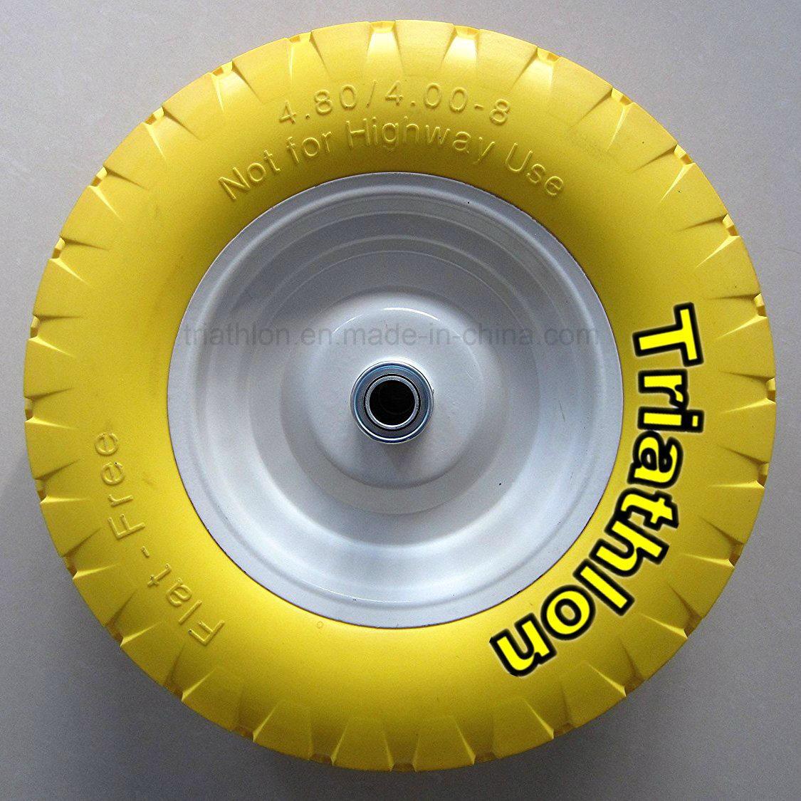 16X4.00-8 3.50-8 3.00-8 6.50-8 8.50-8 Wheelbarrow Solid Rubber Wheel
