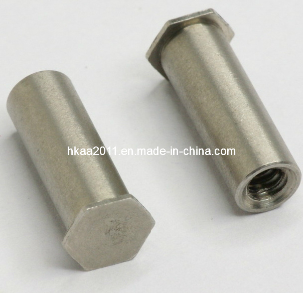 Brass Self-Clinching Blind Hexagonal Electrical Standoff Screw Fastener