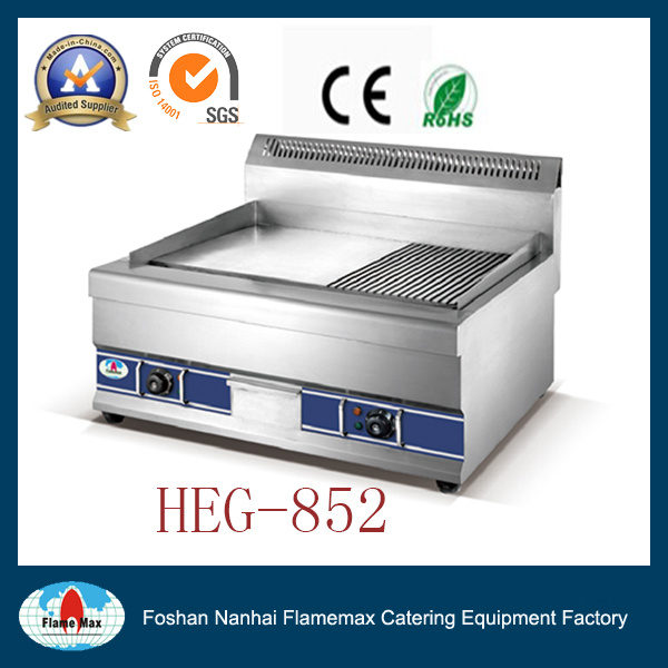 Heg-852 Electric Half-Grooved Griddle