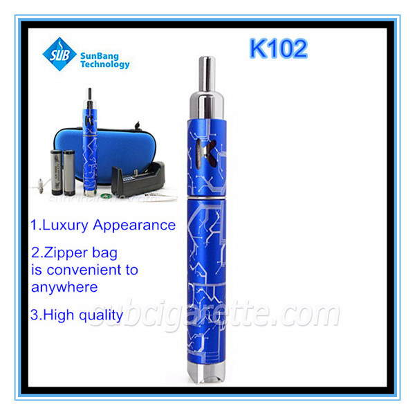 2014 New Products Electronic Cigarette E Cigarette Ecigator Ecig China Wholesale E Cigarette K102 with Unique Design (K102)