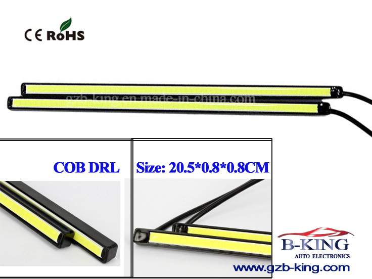 IP67 Wholesale 205mm Car COB LED DRL
