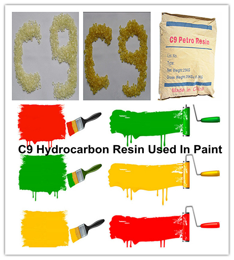 C9 Hydrocarbon Resin for High Quality Paint Facoty Manufacture