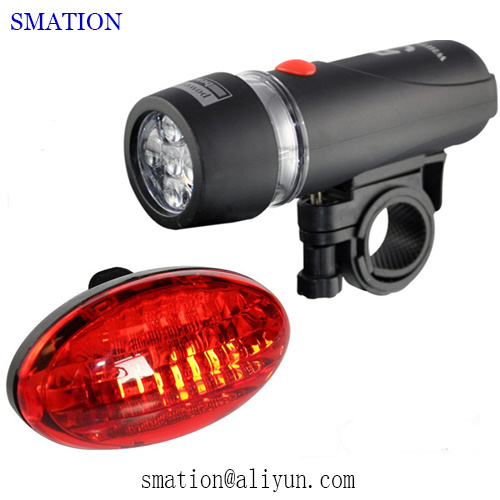 Cheap Best Cycle Battery Powered Safety Rear Bicycle Warning Lights