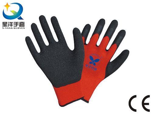 Latex Palm Coated Thumb Fully Coated Safety Work Glove