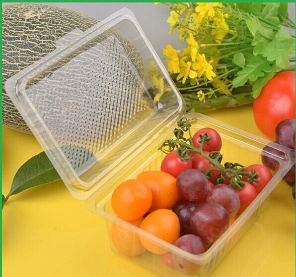 Walmart&Kroger Supermarket Display Disposable Plastic Fruit and Vegetable Trays