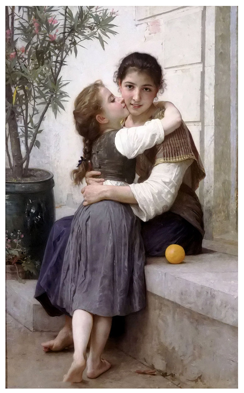 Famous Artists Oil Painting, Masterpiece Oil Painting Reproduction, Calinerie (1890years) -William Adolphe Bouguereau
