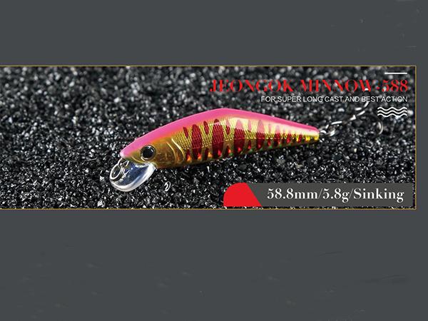 Hard Fishing Lure (Jeongok 588s Sinking)