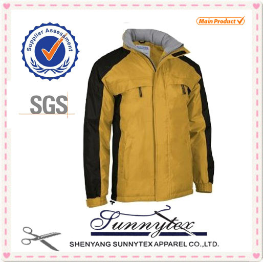 2017 Design Longsleeve Jacket with Fleece Inside