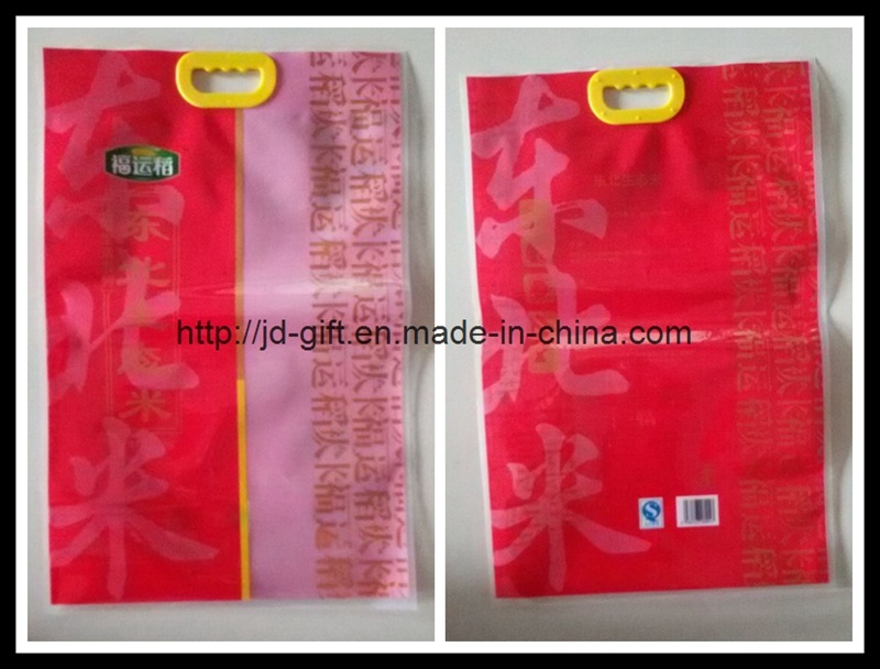 Hot High Quality Plastic Food Package Handle Bag for Rice, Coffee, Tea, Snacks, Candy, Dry Food