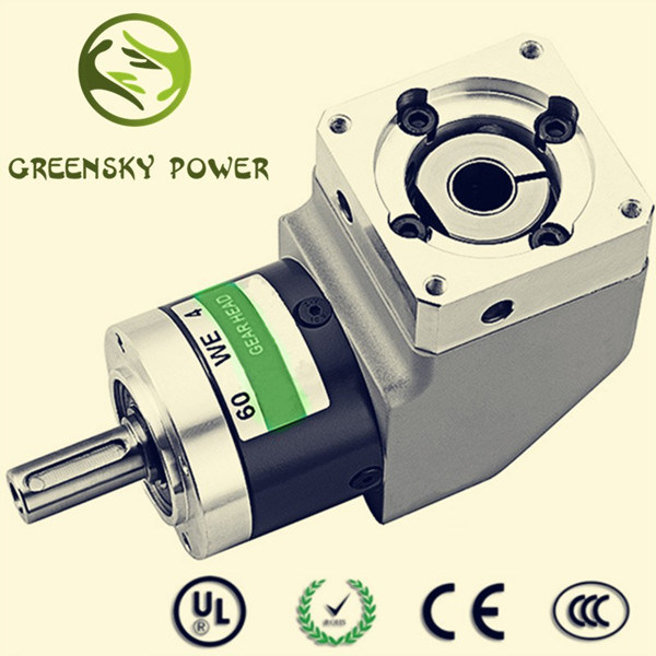 GS Square Mounting Flange Right Angle Planetary Gear Box