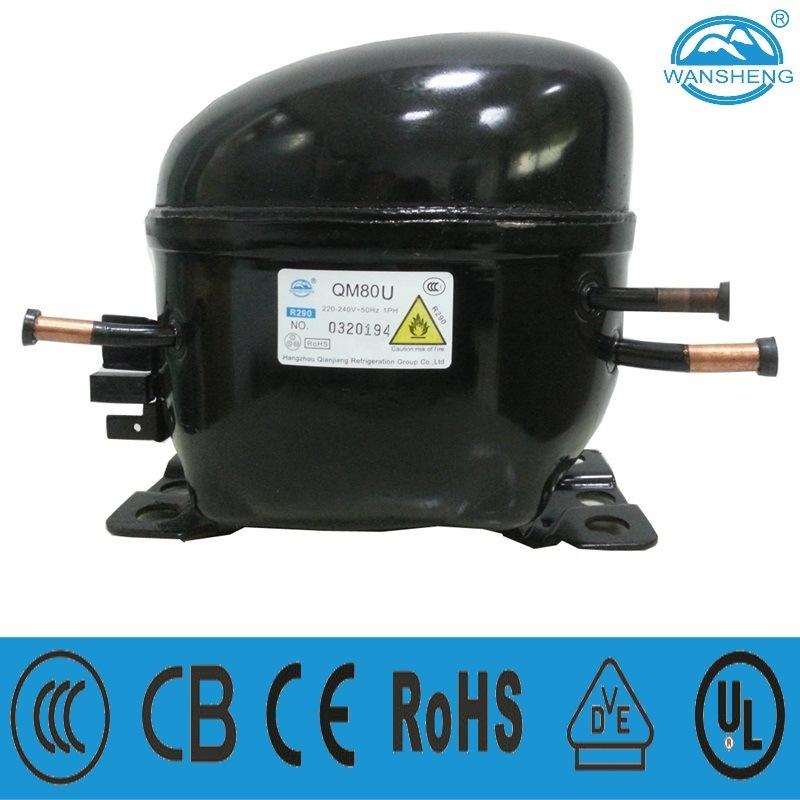 R290 Refrigerant Lbp Compressor (QM80U)