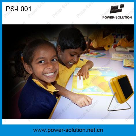 Portable LED Solar Table Reading Lamp for Indoor Solar Lighting