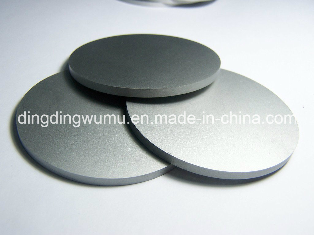 Pure Molybdenum Disc for Sapphire Crystal Growth Vacuum Furnace