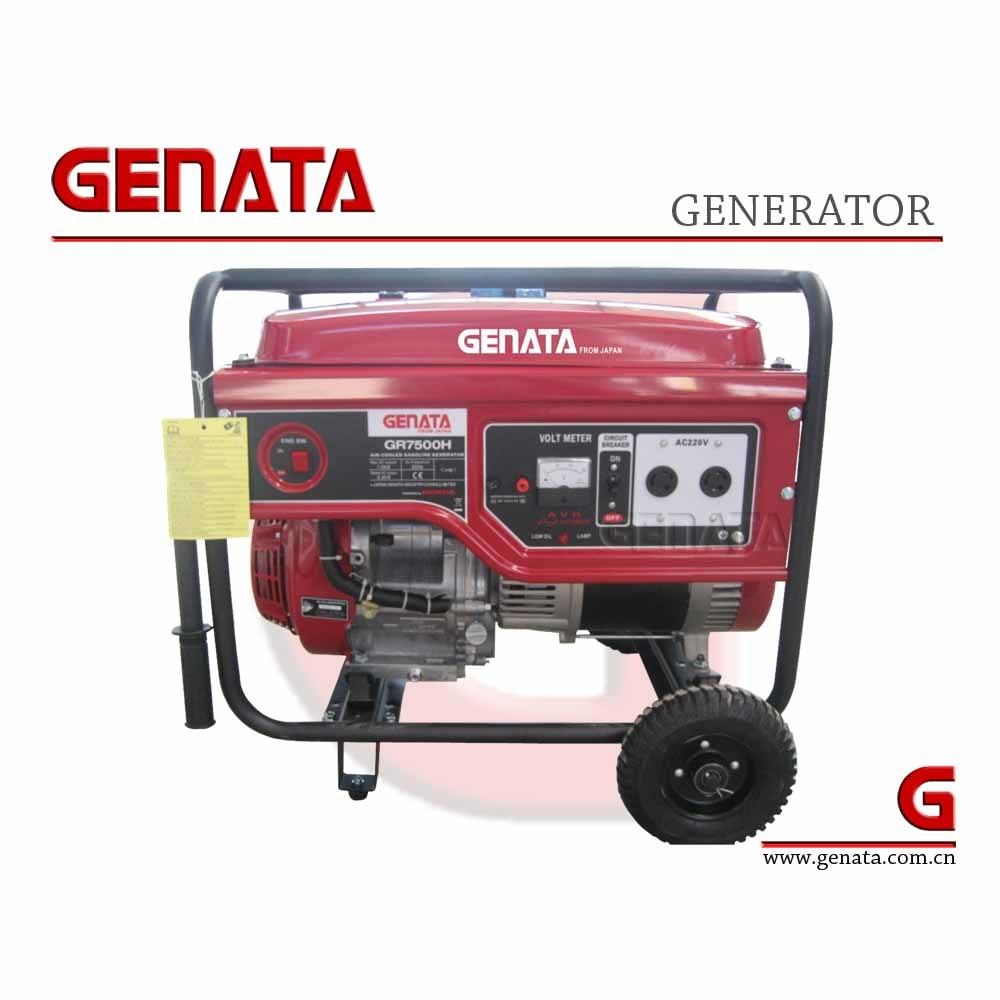 China epa csa ce gs ul approved 100 copper electric start for Generator with honda motor