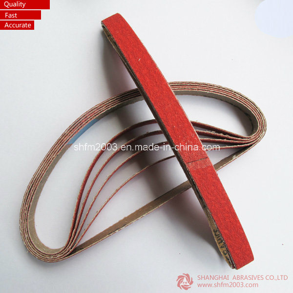 6*520mm Ceramic & Zirconia Abrasive Belts for Grinding