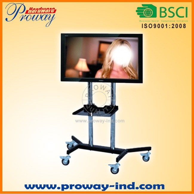 "Mobile TV Stand TV Cart TV Trolley with Wheels for 24""-45"""