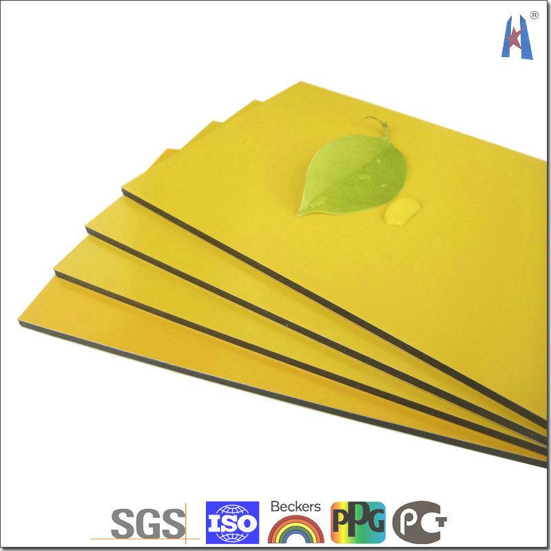 4mm PVDF Coating Bendable Plastic Core ACP