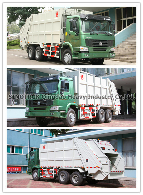 HOWO Garbage Truck 6*4 (ZZ3257N3847A)