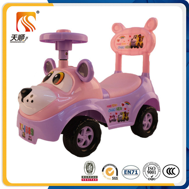 New Model Children Wiggle Car with New PP Plastic Material on Sale