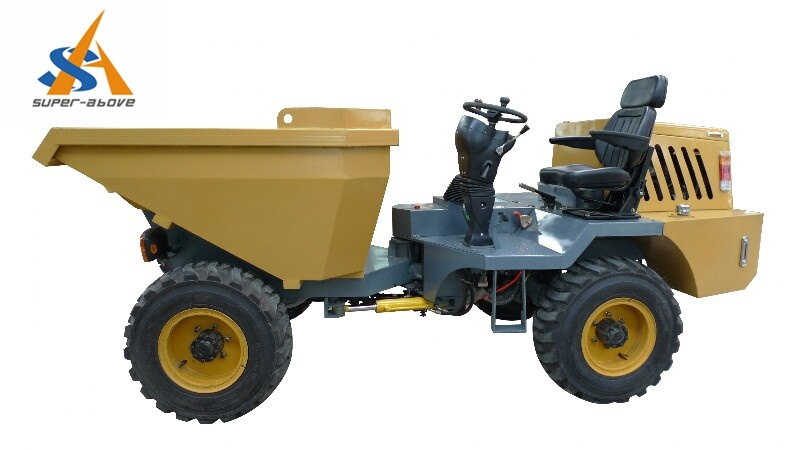 Site Dumper with Hydraulic Tipping System