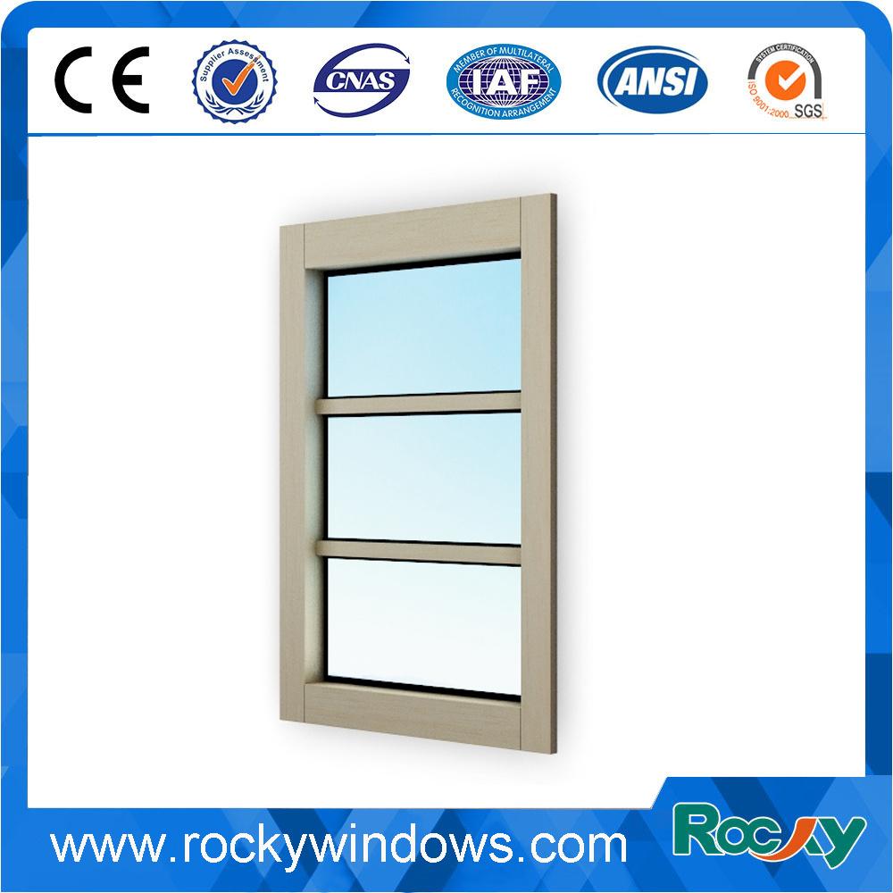 Aluminium Fixed Glass Window/ Window Glass View Window Curtain Wall Skylight