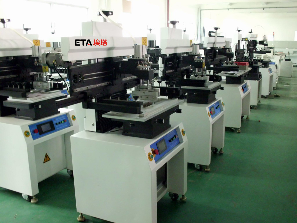 SMT Assembly Line SMD Stencil Printer for LED Long Board