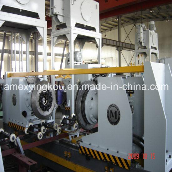 55 Gallon Steel Barrel Production Line 8 PCS/Min Beading Machine