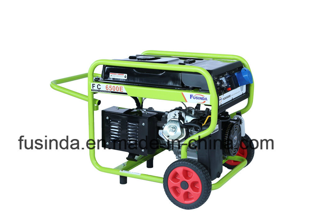 2017 Electric Starter Home Use Gasoline Generator with Saso