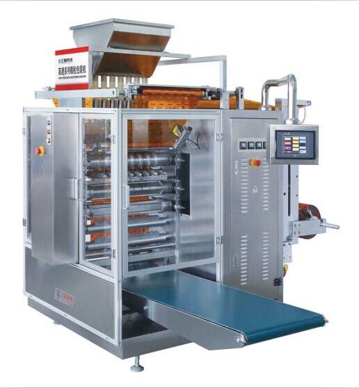 High Speed Granule Four-Side & Multi-Line Packing Machine