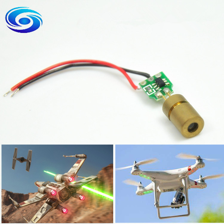 Cheap Mini 635nm 1MW 5MW Red Laser Module for Uav