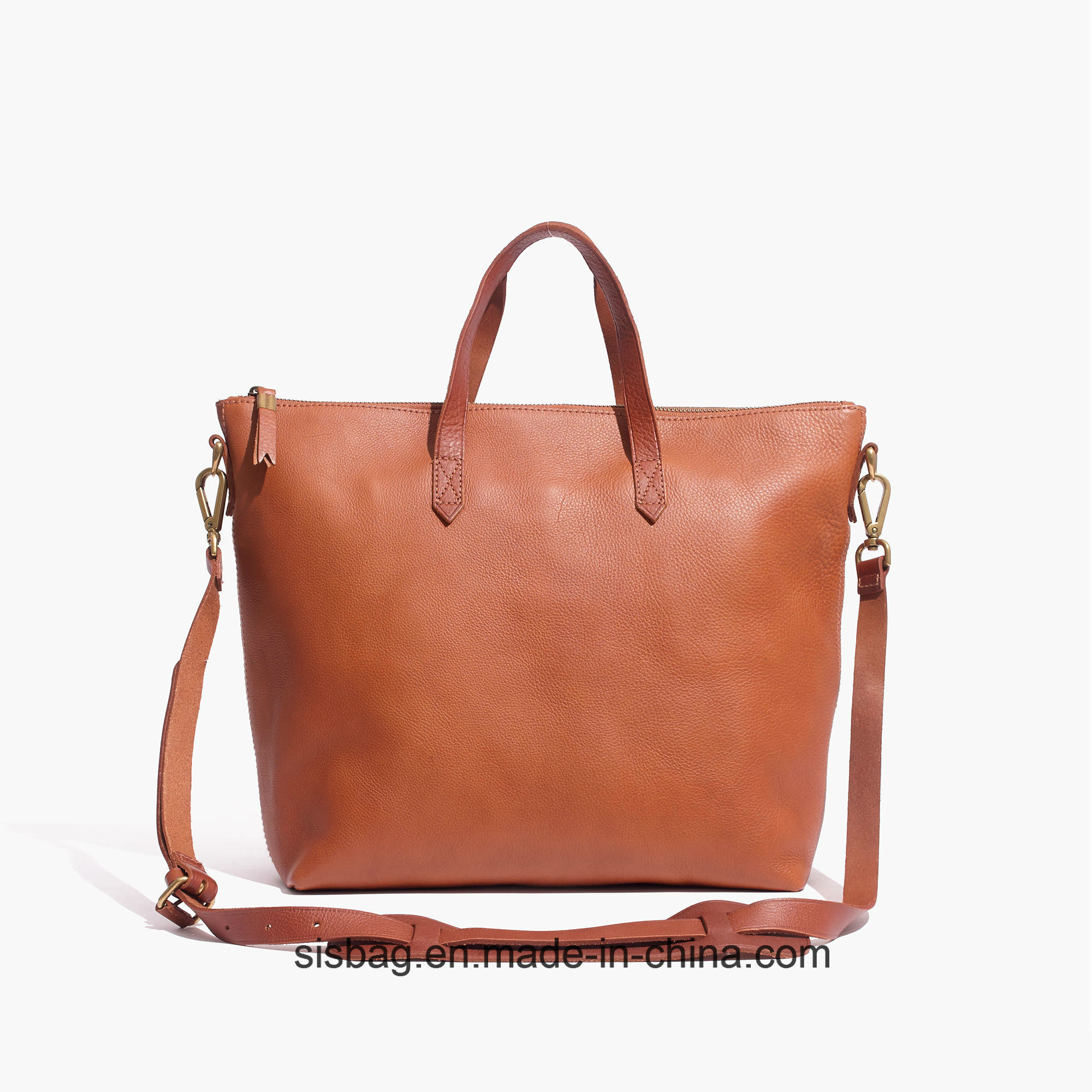 Contrast Color PU Shoulder Bag Women Shopping Abg