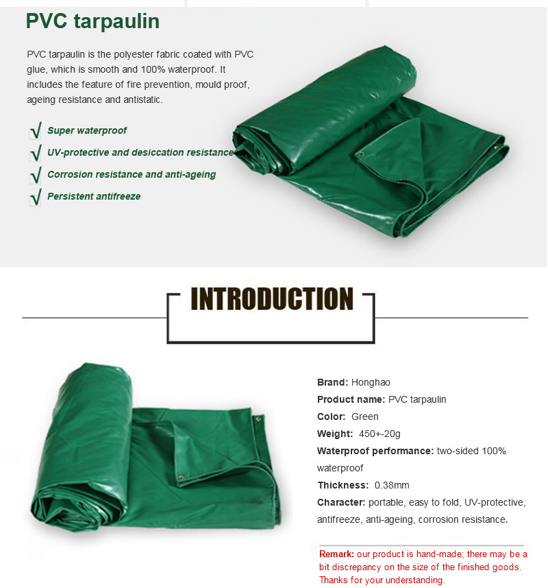 Waterproof Tarp/Tarpaulin Roll Woven Fabric Tent