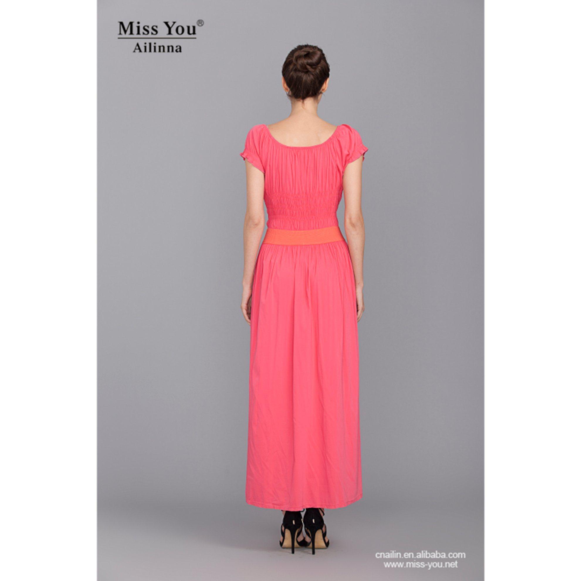 Miss You Ailinna Hot Sale 780055 Long Beach Dress Casual Dress