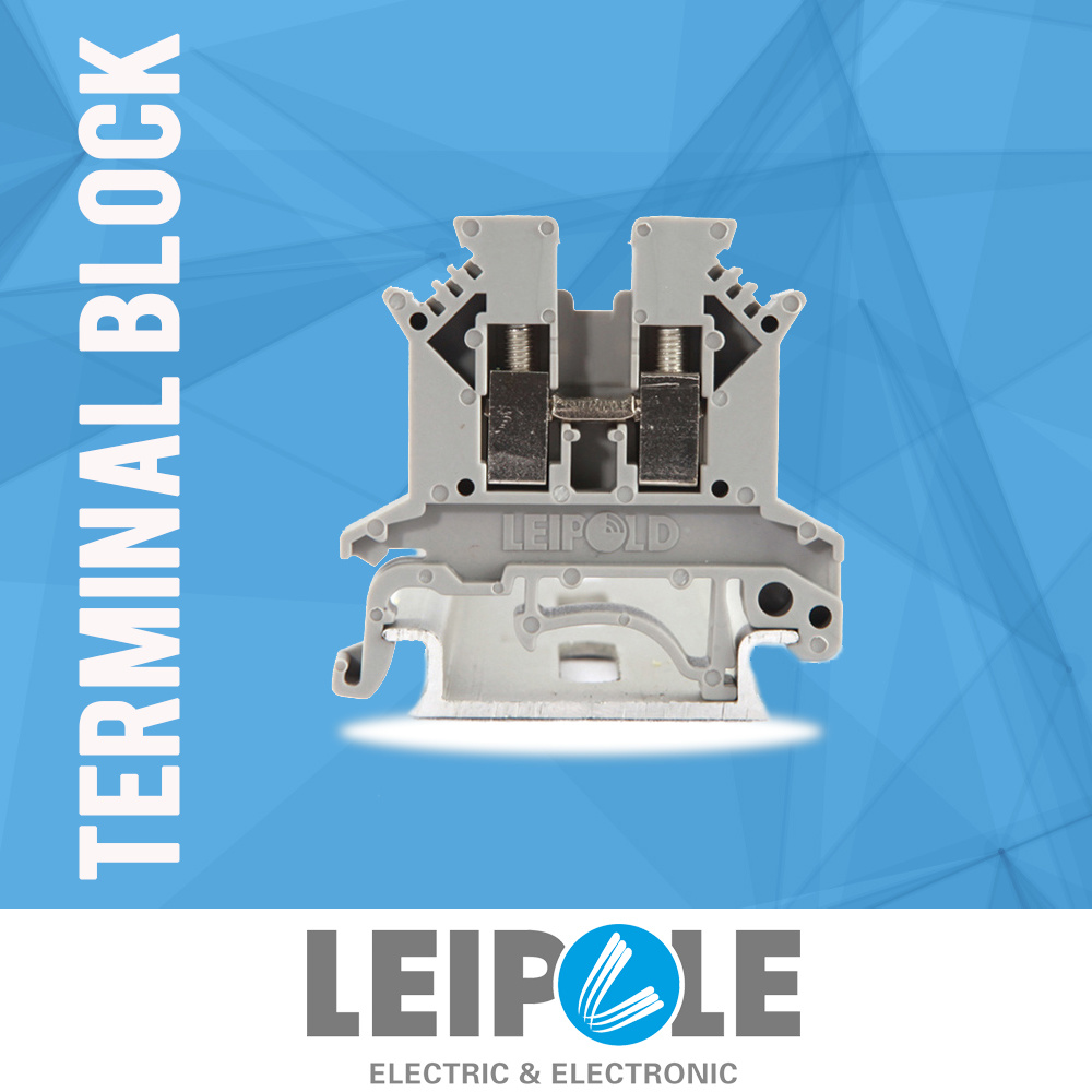 Ce Pass Juk2.5b Screw Type Terminal Block Wiring Connector