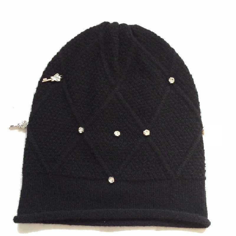 Cashmere Diamond Hat Blingbling