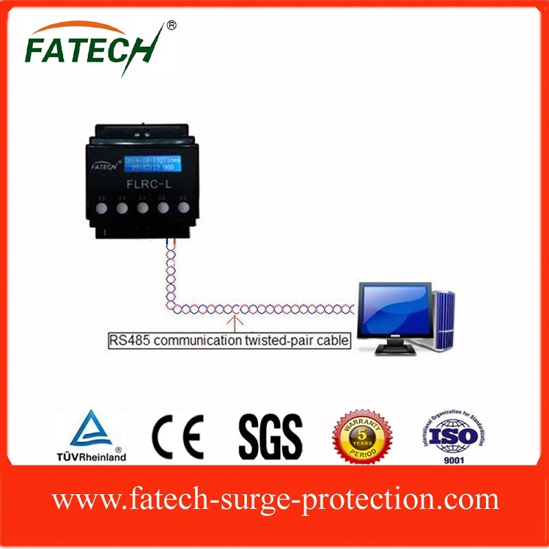 LCD Display RS485 Communiction Lightning Counter