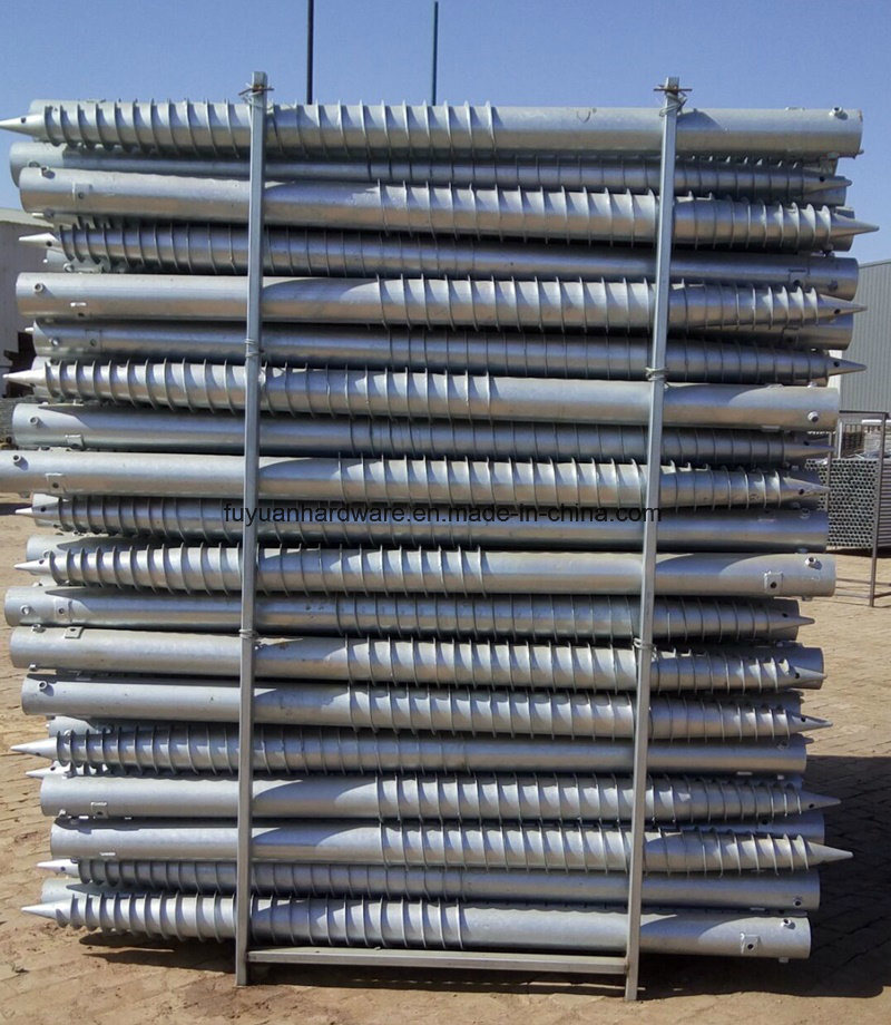 Krinner Type Construction and Building Used Ground Screw