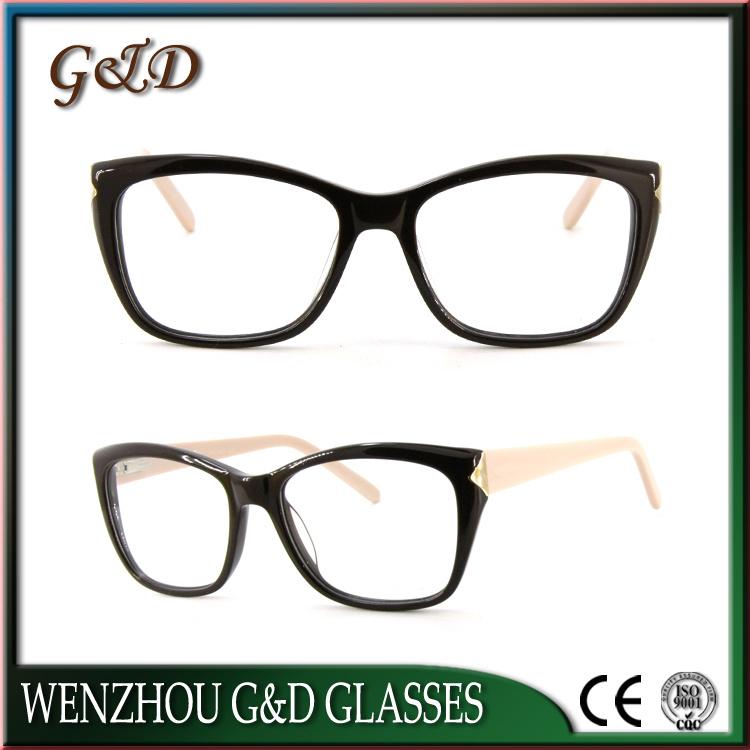 High Quality Acetate Optical Frame Eyewear Eyeglass 52-302