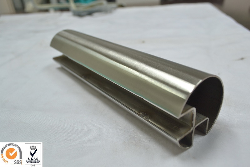304 Stainless Steel Slotted Tube