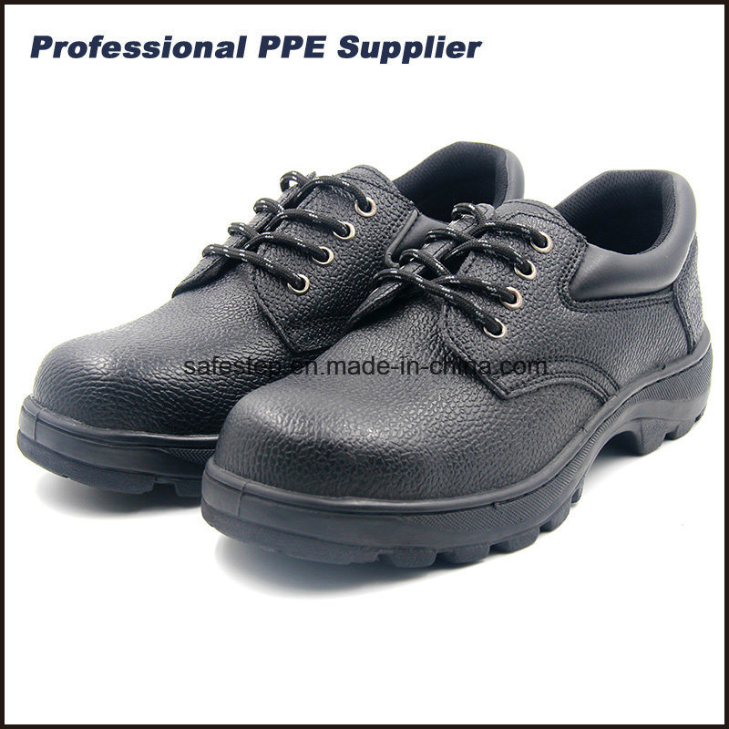 Low Cut Man Split Leather Hard Work Shoe