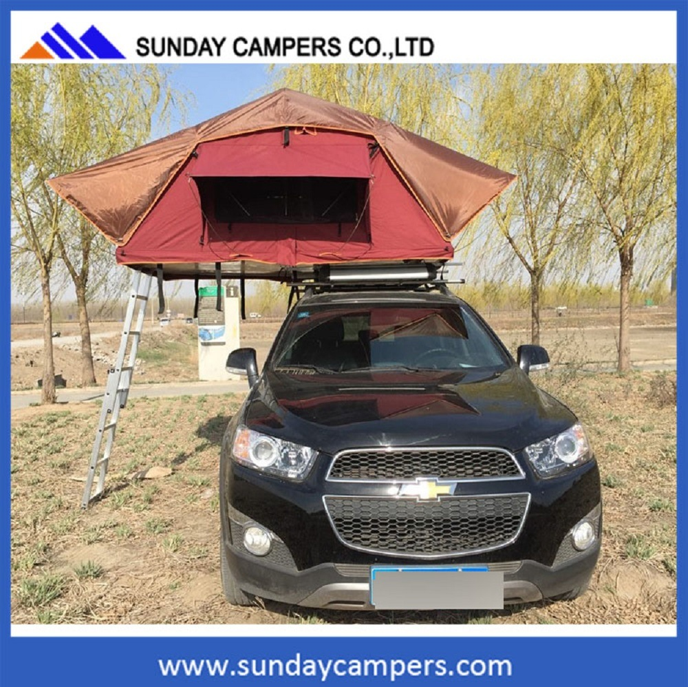 Factory Made 4X4 Wreckers Melbourne Canvas Car Roof Top Tent for Patry Camping