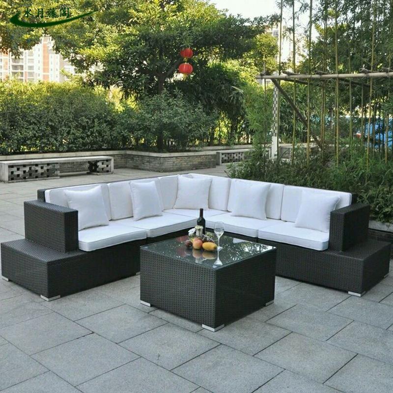 Wholesale Garden Outdoor Rattan / Wicker Furniture of Sofa Set S225