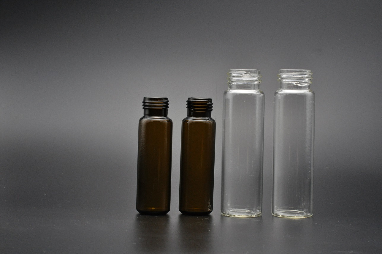 20ml Clear and Amber EPA VOA Storage Glass Vials for Water Test