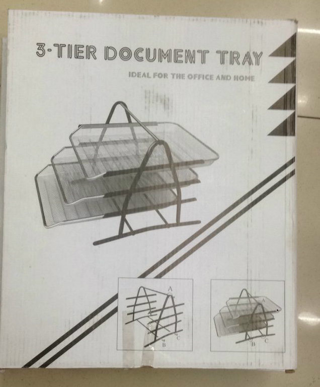 Cheapest Office Plastic Desk Tray