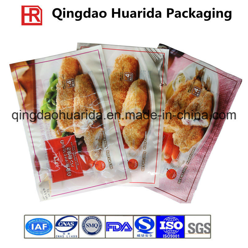 Factory Price Food Packaging Printing Plastic Bag /Frozen Food Pouch