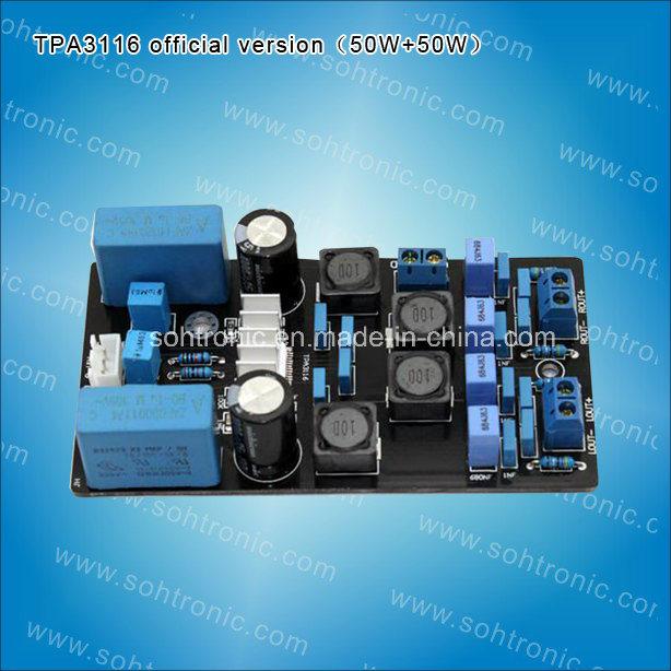 Tpa3116 Official Version (foreign circuit) Amplifier Board 50W+50 Amplifier Module