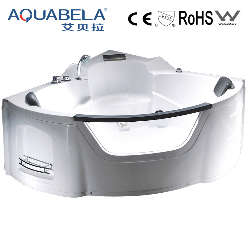 Luxury Acrylic Corner Whirlpool Jet Surf Bathtub (JL806)