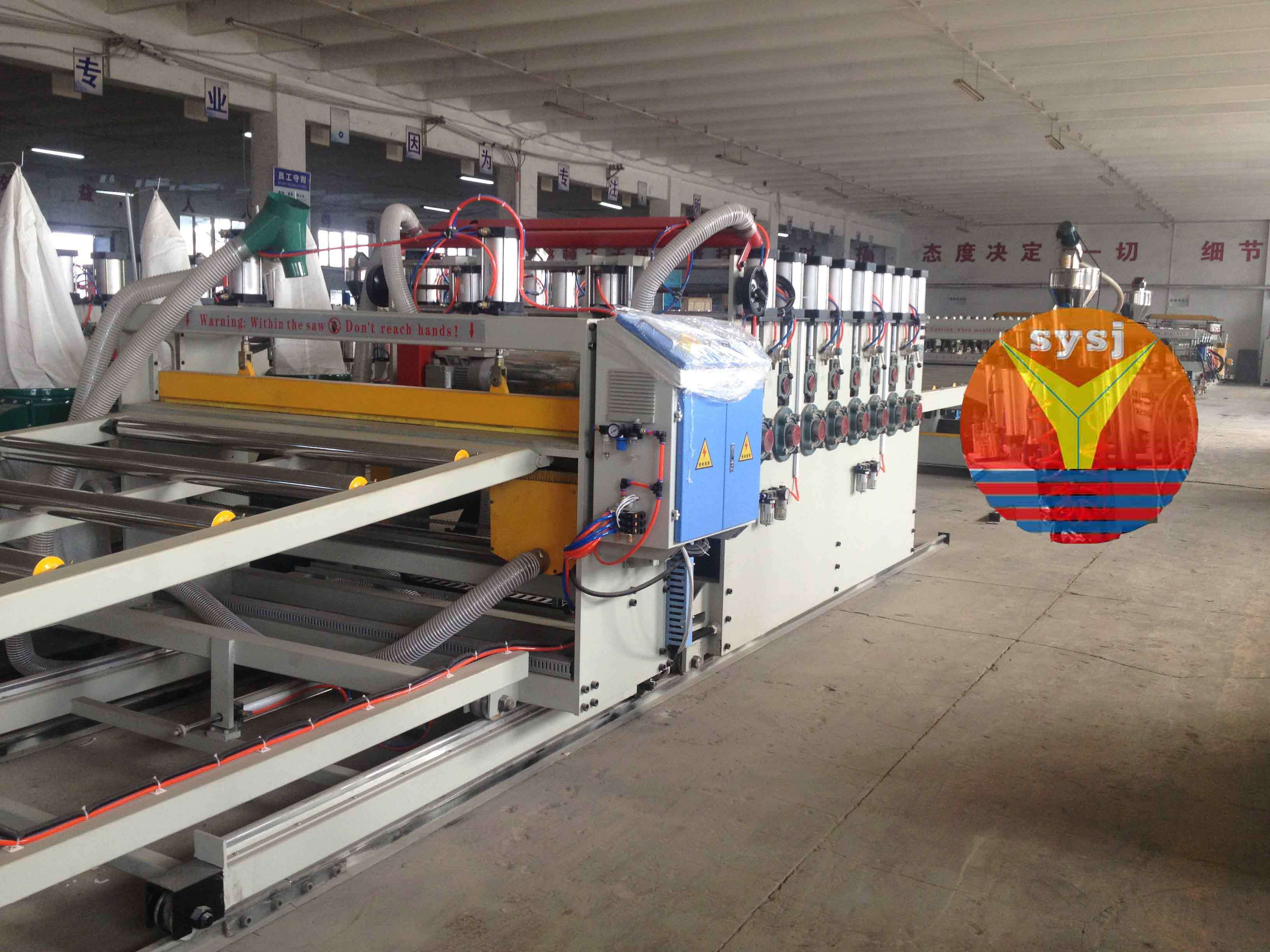 Wood Plastic Board Extrusion Machine